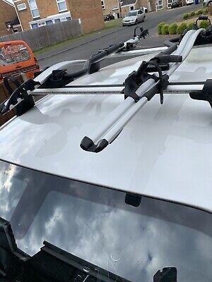 Farad Black Wing Roof Bar Set BMW 1 Series E82 Coupe 07-13 Aluminium Lockable