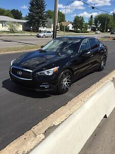 2014 INFINITI Q50, AWD, PREMIUM W/TECH AND DRIVER ASSIST PKG