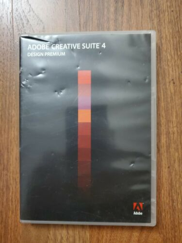 Adobe Creative Suite 4 Design Premium-Windows (Used w/serial number)
