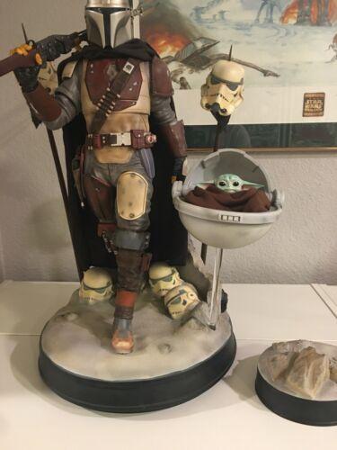 MYC Star Wars Mandalorian 1/4 Statue