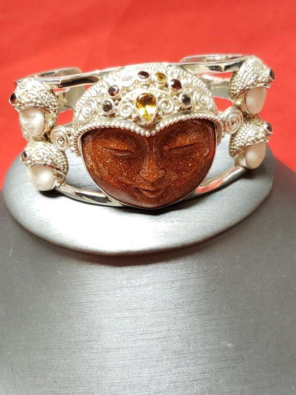 Sajen Sterling Silver Cuff Bracelet