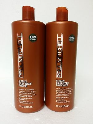 Paul Mitchell Ultimate Color Repair shampoo and conditioner LITERS set