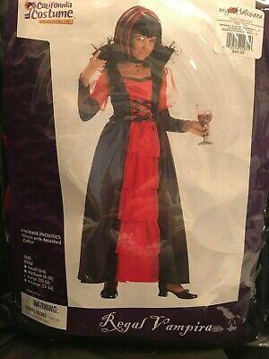 Halloween California Costumes Regal Vampira Gothic Victorian Dress Girls L - Regal Vampira Kostüm