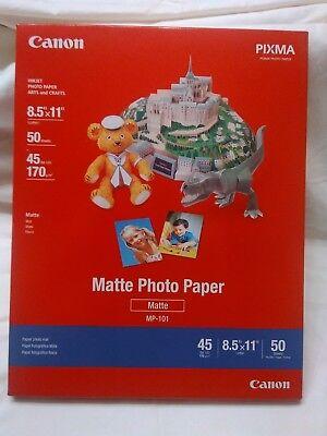 - Photo Paper Canon Matte Premium 8-1/2