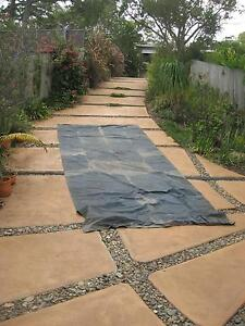 TARPAULIN   HEAVY DUTY CANVAS WATERPROOFED WITH WAX PROOFER Mount Coolum Maroochydore Area Preview