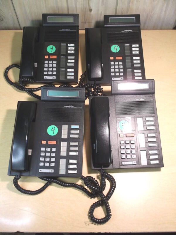USED LOT OF 4 MERIDIAN NT4X36 BUSINESS PHONE FREE SHIPPING