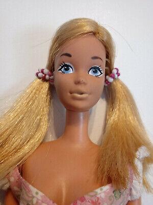 Barbie Vintage Sunset Malibu PJ #1187 P.J. 1970's in Floral Fashion Dress