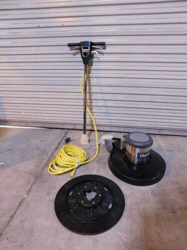 "Clarke 20"" Electric Multi Purpose Floor Machine, 1.5 HP, 175 RPM Damaged"