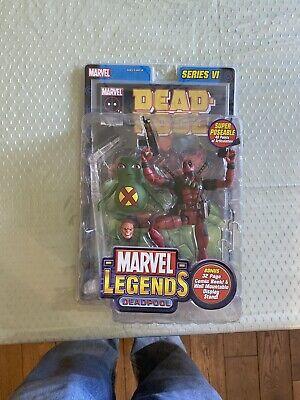 marvel legends deadpool series 6