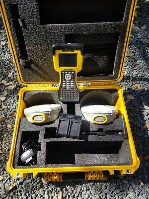 Trimble R8 Gps L1 L2 Rtk Base Rover Receiver Kit W Tsc2 Data Collector