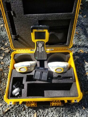 Trimble R8 GPS L1 L2 RTK Base & Rover Receiver Kit w/ TSC2 Data Collector