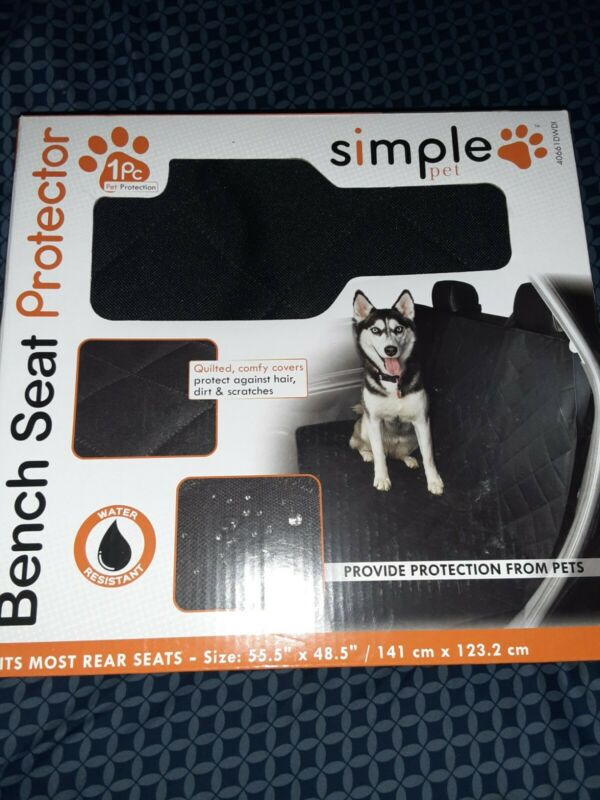 Simple Pet Bench Seat Protector