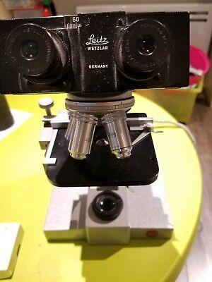 Leitz Microscope Sm-lux Type 020-441.008