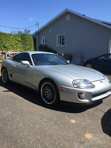 Toyota supra mk4 2jz single turbo