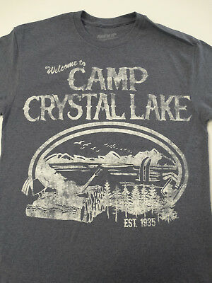 Friday the 13th Jason Voorhees Welcome To Camp Crystal Lake Horror Movie T-Shirt](Camp Crystal Lake)