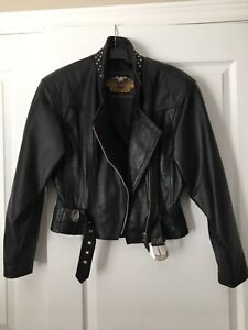 Genuine Harley Davidson Motorcycle Jacket (women-xs)