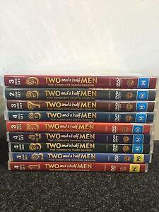 TWO AND A HALF MEN DVD SEASONS 1,2,3,4,5,6,7,8,9 Cessnock Cessnock Area Preview