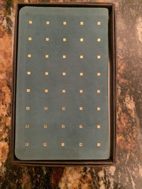 Vintage Michael Graves Leather Gold Square 1991 Calendar Pocket Planner book