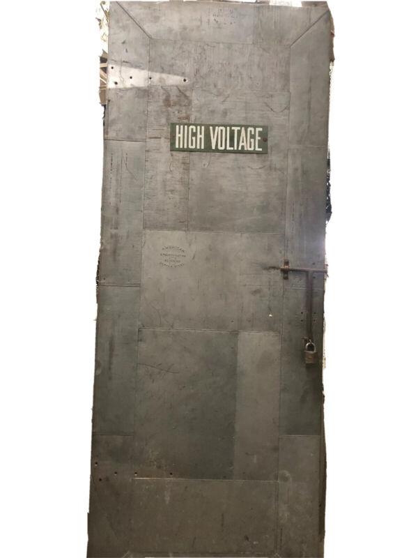 Metal Door American Steel 77x29