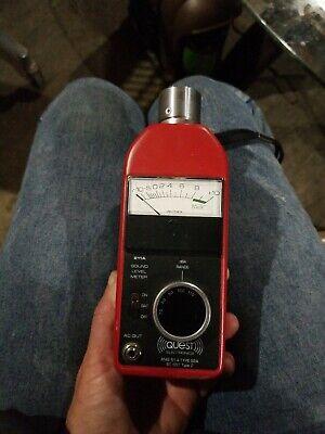 Quest Electronics 211a-fs Sound Level Meter Wpermissible Calibrator Ca-12