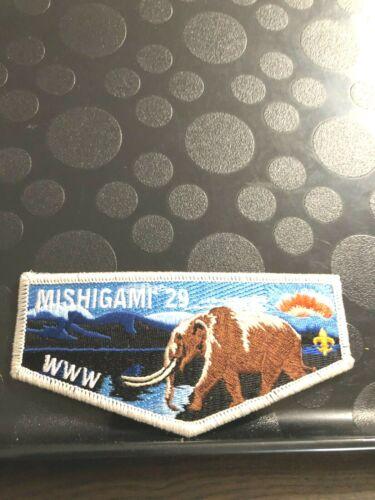 OA MISHIGAMI LODGE 29 S1 FIRST FLAP