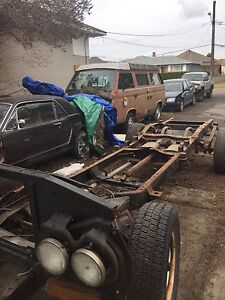 1970 gmc/Chevy frame + front clip