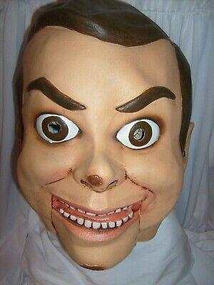 Halloween Costume Ventriloquist Doll (Halloween SLAPPY Dummy FULL MASK Dolls Dress Goosebumps Costume)