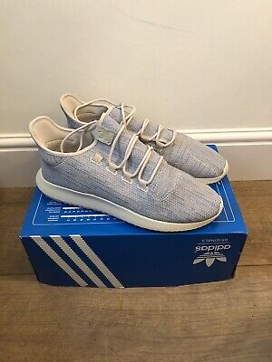 Adidas Tubular Shadow Blue White Men's Uk Size 12.5 Trainers