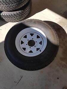 3 near new tyres & rims $180 Thornlands Redland Area Preview