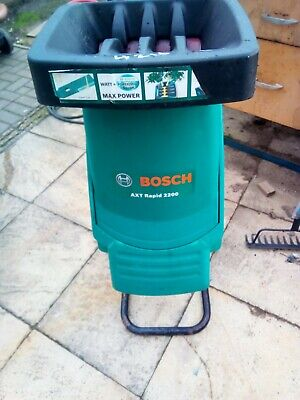 Bosch AXT Rapid 2200 Electric Garden Shredder spares or repair