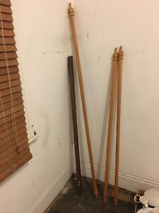 Curtain rods x3 free