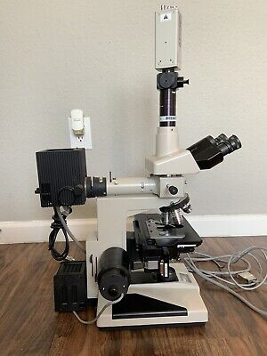 Nikon Optiphot Research Microscope 5 Objectives Accessories