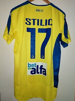 Trikot fußball FC Apoel Semir Stilic 2015 puma M blau gelbe image