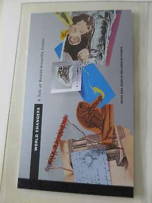 GREAT BRITAIN PRESTIGE BOOKLET SCIENTIFIC /dk503
