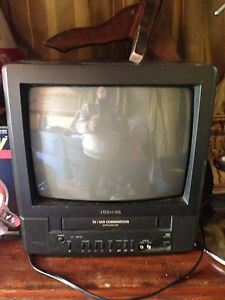 TV with built in VHS