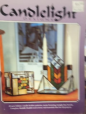 Candlelight Designs Stained Glass Book by Walrus Publications