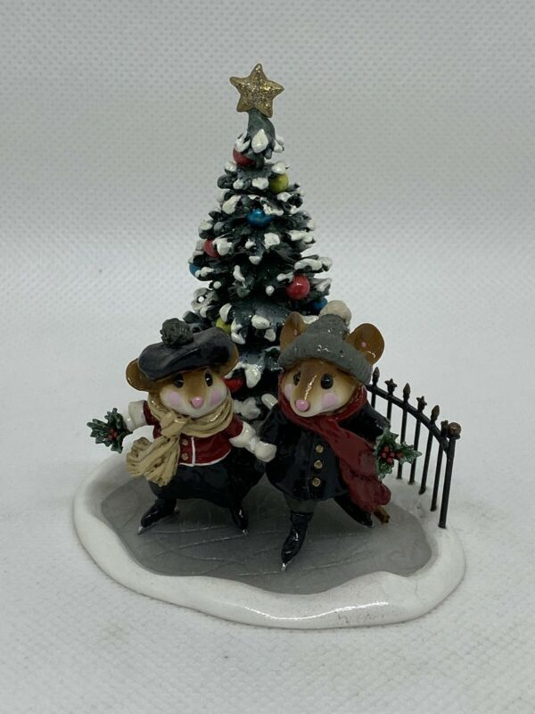 Wee Forest Folk Strolling Through The Seasons, Winter, William Peterson 2004