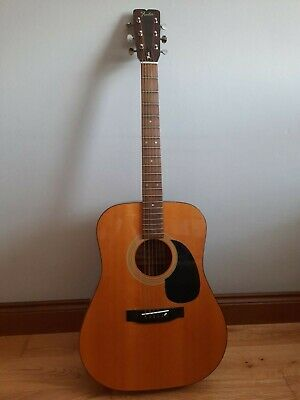 Fender Model F-03 Acoustic Guitar with case