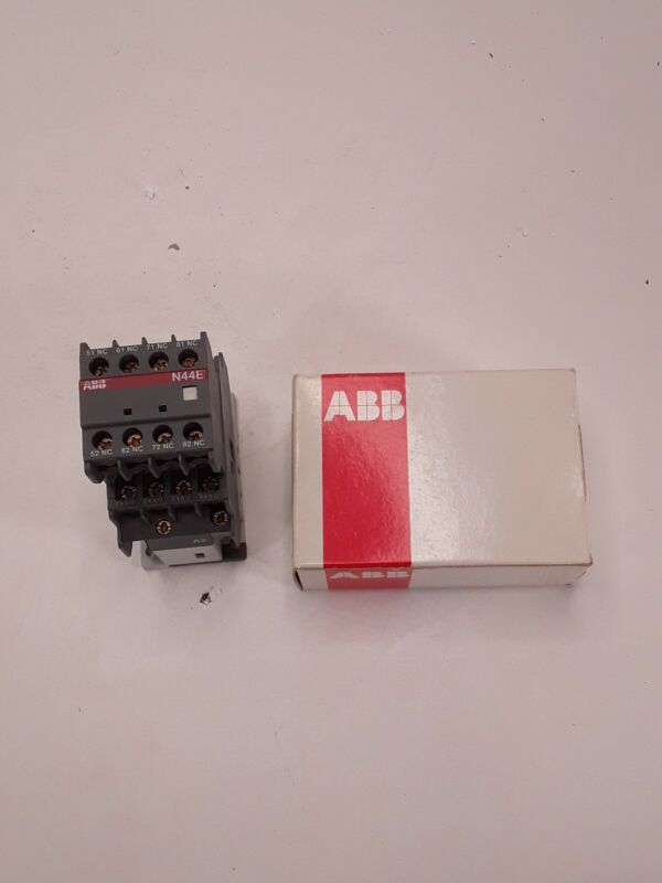 ABB N44E-84 Contactor Relay 110-120V 50-60Hz  N44E84  NEW IN BOX