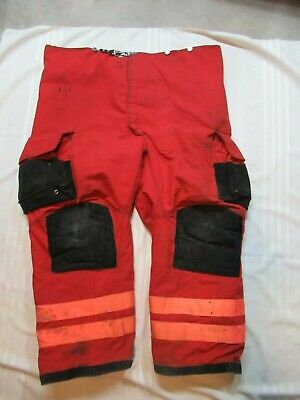 Lion Janesville 52r Firefighter Turnout Bunker Gear Pants Rescue Towing