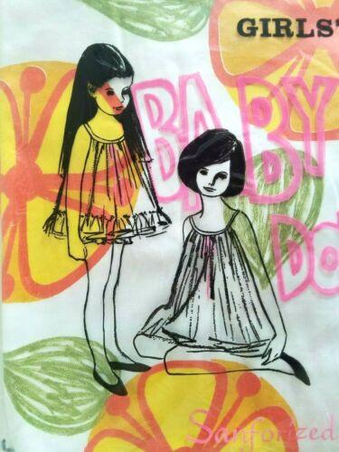 NEW ~ Vintage Girls MOD BABY DOLL P.J