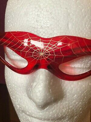 Spider Web Man Motif Glasses Shades Red New Sunglasses
