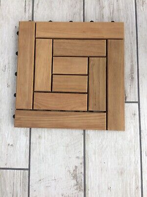 Teakwood Decking Tiles Brand New Extremely High Quality Boxes Of 10