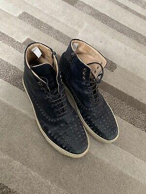 Alexander McQueen Vacuum men shoes trainers sneakers high tops 100% authentic