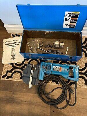 Hougen Ogura Electro Hydraulic Hole Puncher 75002.5 W Hard Case Punches