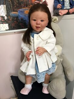 """Sold Reborn toddler lifelike doll 29"""" limited edition"""