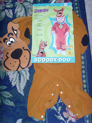 NWD Scooby Doo Halloween costume kids boy or girl EASY infant size 6-12 mo dog](Easy Halloween Girl Costumes)