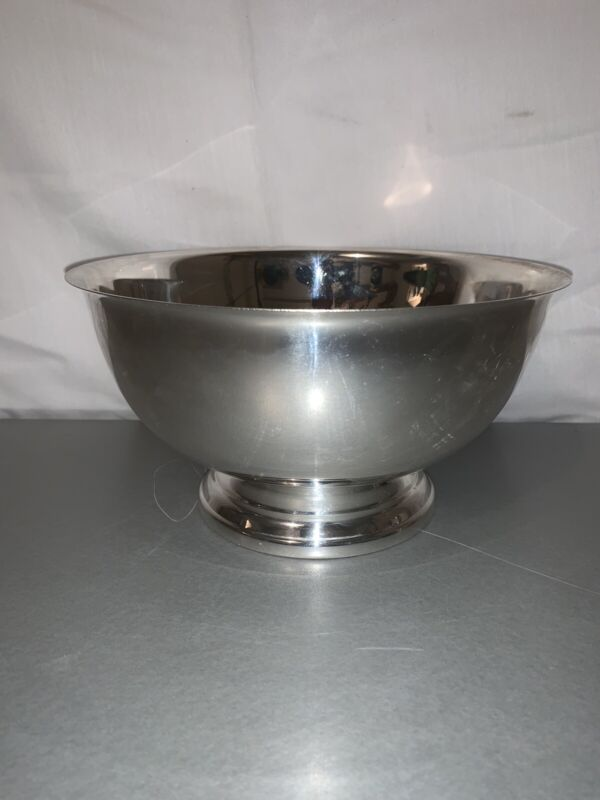 """Towle Silver 8"""" Footed Bowl Vintage"""