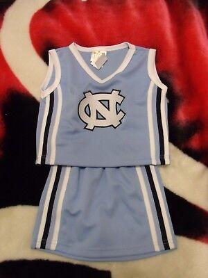 Toddler Cheerleader Costume (NORTH CAROLINA TARHEELS CHEERLEADER OUTFIT COSTUME TODDLER SIZE)