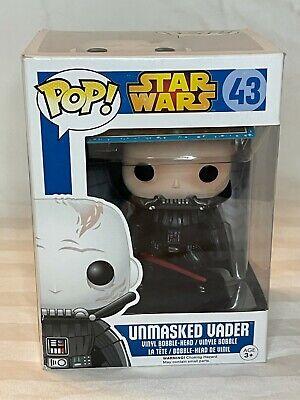 Unmasked Darth Vader Star Wars Funko Pop #43